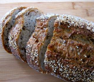 whole grain panzanella